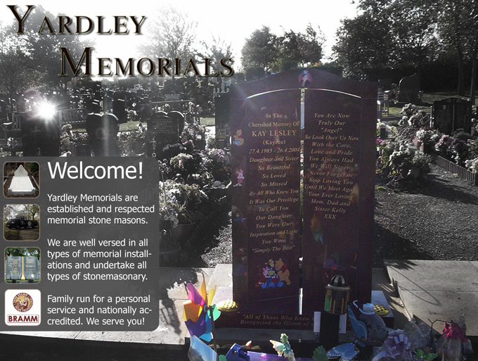Yardley Memorials, Memorial Masons